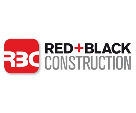 Red + Black Construction